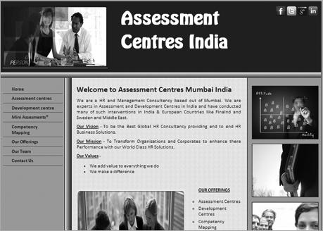 Assessment Centres Mumbai India